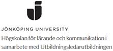 Högskolan i Jönköping i samarbete med Utbildningsledarutbildningen